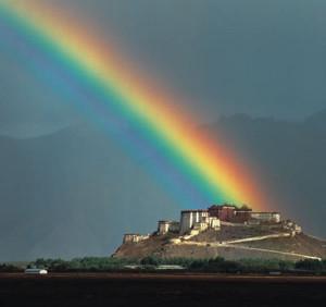 Lhasa-rainbow