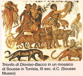 DionisoFanete, DionisoOrfeo, Semele incenerita DionisoBacco (Soussa Tunisia)