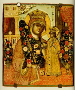 Icona della Madre di Dio Fiore Immarcescibile