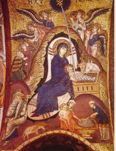 Naività di Cristo chiesa della Martorana Palermo