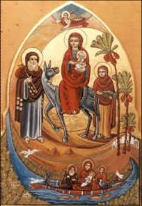 madonna e Gesù chiesa copta cop43