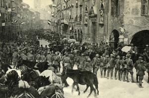 ingresso delle truppe italiane a Trento