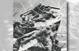 mitraglieri sul Monte Grappa